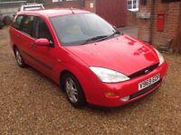 Ford Focus estate 1.8 petrol 1999