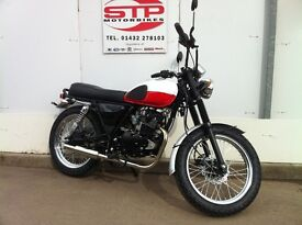 Mutt Motorcycles Desert Racer Red & White only 200 miles on the clock £2,400