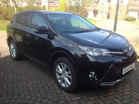 Toyota RAV4 2.2D Icon AWD - May 2013 Metallic Black 42000miles
