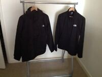 THE NORTH FACE QUEST TRI-CLIMATE JACKET LARGE ONE MONTH OLD. BLACK.
