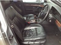 BMW E39 saloon black leather seats with door cards