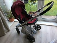 Oyster stroller, carry cot & Britax Car Seat. Smoke & pet free home.