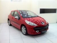 Peugeot 207 1.6 16v Sport 3dr - 12 Month MOT - 12 Month Warranty - Service History - Panoramic Roof