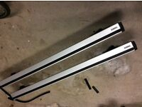 Thule 969 Wing Bars and Feet for Volvo XC70 2007 onwards