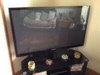 Samsung 51 inch plasma 1080 HD 3D Tv with stand