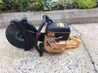 Partner K650 Active lll petrol saw in good condition. Just serviced New piston and coil. Runs well