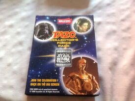 MINT CONDITION FULL SET OF FIFTY STAR WARS TAZOS FROM THE NINTIES