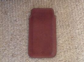 Mulberry leather phone case