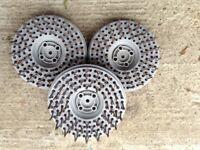Floor scarifier wire heads