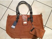 Large Shopper Bag - real leather - Vivi Boutique