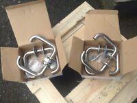 Stainless steel standard sized door handles