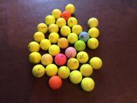 36 coloured golf balls for sale