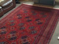Persian style rug ( Kahl Mohammadi Ersari Design) 306/200cm 612sqm Reduced by £1500 (brand new )
