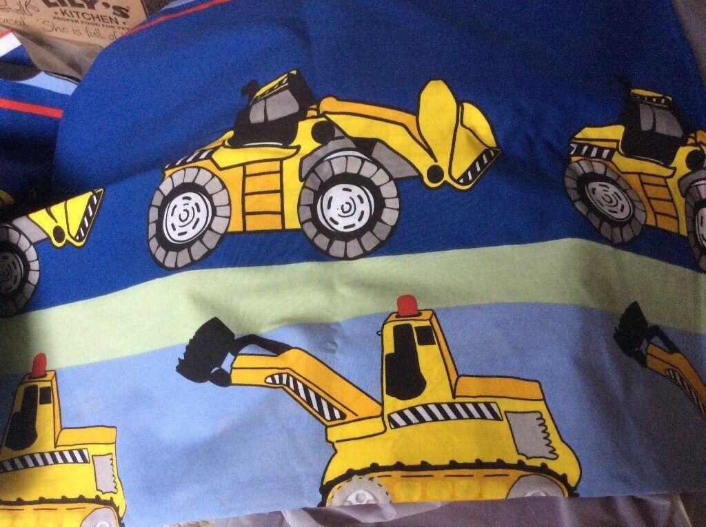 Children's single duvet cover and pillow case. New.