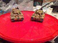 Airfix Tiger tanks