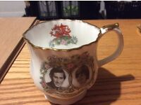 Charles and Diana commemorative China cup