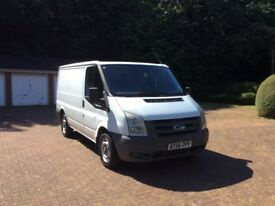 FORD TRANSIT PANEL VAN, 2007 .1 YEARS MOT, 2 OWNERS FROM NEW