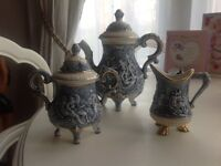 Capodimonte coffee set,
