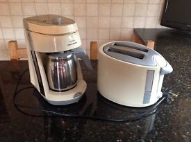 Morphy Richards Filter Coffee Maker & Two Slice Toaster