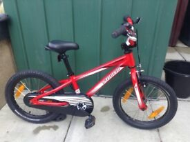 Specialised child's 16 inch bike