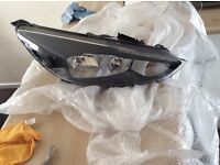 FORD FOCUS 2015 DRIVERS HEADLIGHT FOG LIGHT COVERS