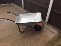 Puncture proof wheel barrow