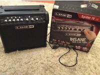 Line 6 Spider IV amplifier