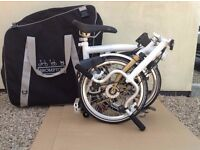 Brand New Special edition one off Brompton Bike worth £1,300, selling for £900