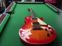 Gibson Epiphone Les Paul guitar.,,