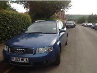 Audi A4 estate 2.0 fsi