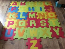 Build your own ABC Play mat