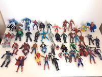 Large Marvel/DC Figures Bundle