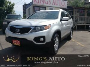 2013 Kia Sorento LX, AWD, HEATED SEATS, TRACTION CONTROL