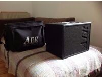 AER Compact 60 with soft case and amp stand