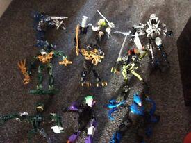 Lego bionicles figures bundle x 2 boxes fab items