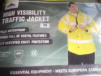 High Visibility Traffic Jacket Medium