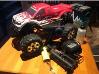 Selling my collection ready to run rc nitro car