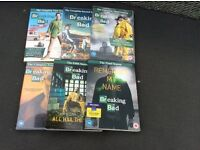Complete set of 'breaking bad' dvds