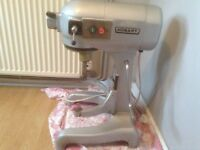 Industrial A120 Hobart recently serviced Stand Mixer, whisks and paddles and table