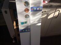 3 brand new gloss finished radiator shelved