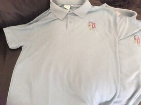 CCHS SCHOOL UNFORM 2 X POLO SHIRTS. SIZE 38 to 40. Hardly worn and in excellent condition
