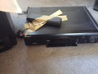 Sony video recorder with remote