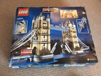 Lego Tower Bridge 10124 - Built twice - Great Condition - Over 4000+ pieces