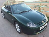 MG TF SPORTS CONVERTIBLE - ONLY 52500 MILES! 7000 MILES AGO! £2500 RECON!