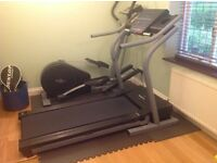 Nordictrack treadmill. Foldable.Professional standard. Hardly used. Good condition