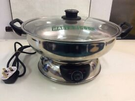 Mastarcook 2 Sided Electric Multi Cooker Hot pot in very good working condition !
