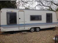 Hobby Prestige 2 Berth Caravan 2003/2004