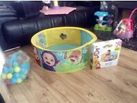 Teletubbies ball pit