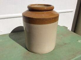 Vintage Glazed Kitchen Pot House Clearance