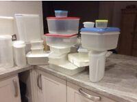 Food storage boxes, tuppawear, plastic boxes